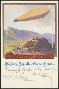Austrian ZES<br />Postcard (rear)