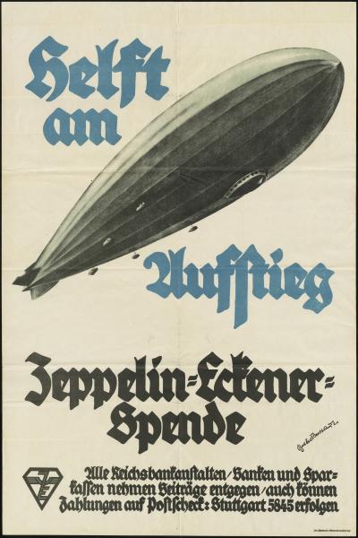 Zeppelin-Eckener-Spende Poster