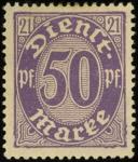 MiNr. 21 I
