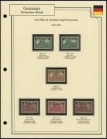 Post Office & Angel Overprints