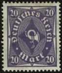 MiNr. 230 W