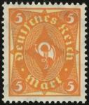 MiNr 205 W