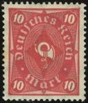 MiNr 206 W