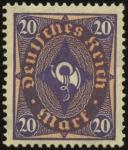 MiNr 207 W