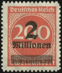 MiNr. 309 B P b