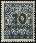 MiNr. 335 A W b