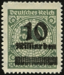 MiNr. 336 B P