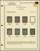 Rentenpfennig Rosettes