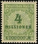 MiNr. 316 A W