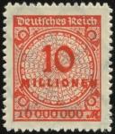 MiNr. 318 B P