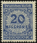 MiNr. 319 A W a