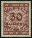 MiNr. 320 A W