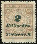 MiNr. 326 B P