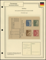Buildings Order Card