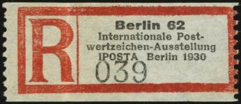 Registration Label
