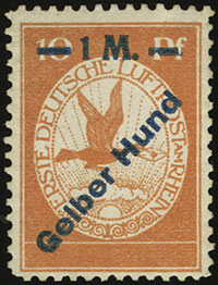 Rhine and Main Airmail