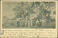 Girls in Südwest-Afrika Private Postal Stationery