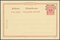 Marine Schiffspost Postal Stationery Essays