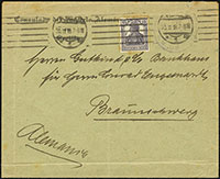 WWI Consular Letter