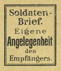Soldatenbrief