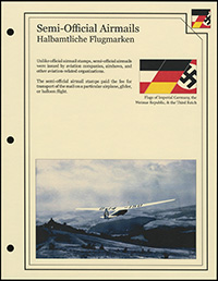 Imperial Germany Semi-Official Airmails