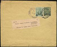 1901 Overprint Wrapper