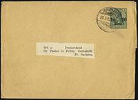 1905 Overprint Wrapper