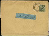 1908 Centimes Overprint Wrapper