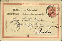 Pfennig Forerunner Postal Stationery