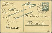 Buchner Flight Airmails