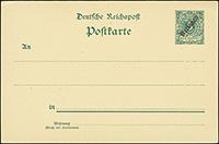 1899 Overprint Postal Stationery