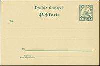 1901 Yacht Postal Stationery