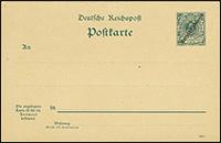 1897 / 1899 Overprint Postal Stationery