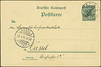 1900 Overprint Postal Stationery