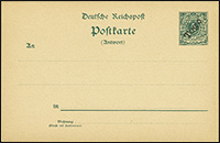 1899 / 1900 Overprint Postal Stationery