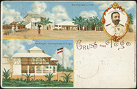 Gruss Aus Togo Private Postal Stationery