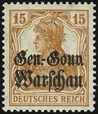 1916 / 1917 Overprints