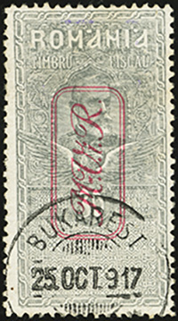 Fiscal Stamps – 1 June 1917