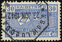 1908 Additional Dock Fee Stamps (Woermann Linie)