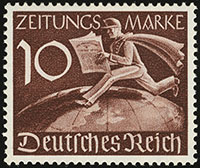 Foreign Newspaper Stamps