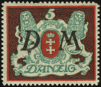 Large Coat of Arms Overprint