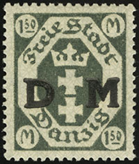 Small Coat of Arms Overprints