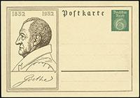 Goethe's 100th Birthday