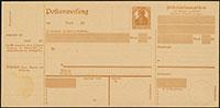 1919 Postanweisungen A41 / A42