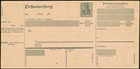 1920 Postanweisungen A43 / A44