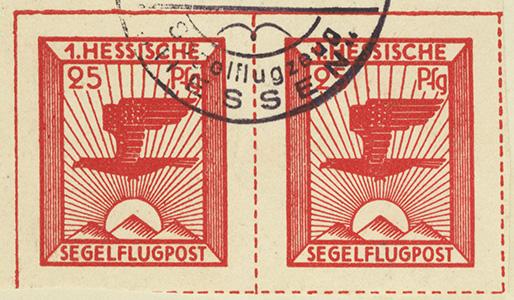 1st Hessian Glider Mail
