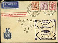 Europa – Southampton (14 September 1933)
