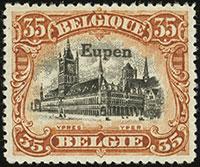 Eupen 1920-21 Overprints