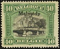 Malmedy 1920-21 Overprints