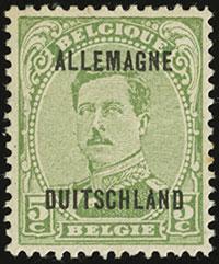 Belgian Military Post in the Rhineland